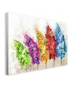 Schilderij Feestelijke bomen