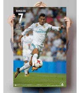 Poster Cristiano Ronaldo Real Madrid 17/18