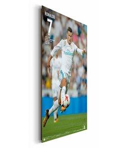 Schilderij Cristiano Ronaldo Real Madrid 17/18