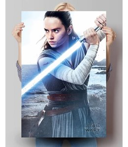 Poster Star Wars - The Last Jedi Rey