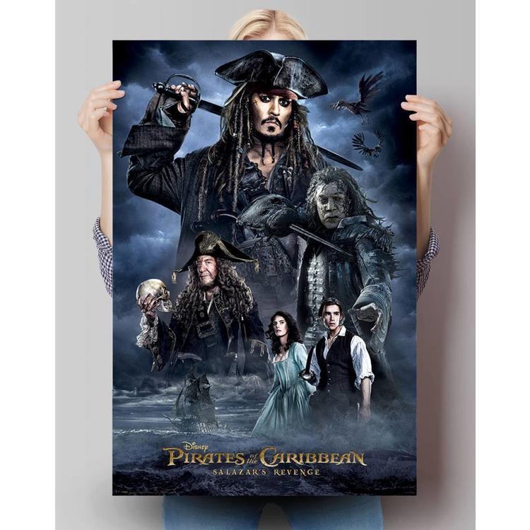 Pirates of the Caribbean Salazars revenge - Poster 61 x 91.5 cm