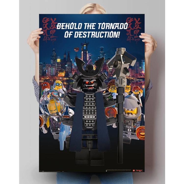 Lego Ninjago Garmadon - Poster 61 x 91.5 cm