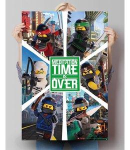 Poster Lego Ninjago 6 ninjas