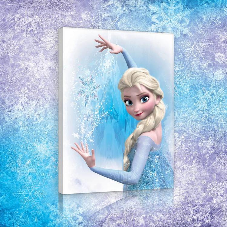 Frozen  - Schilderij 60x80cm