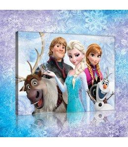 Schilderij Frozen Cast