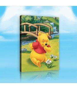 Schilderij Winnie the Pooh - Winnie Bridge