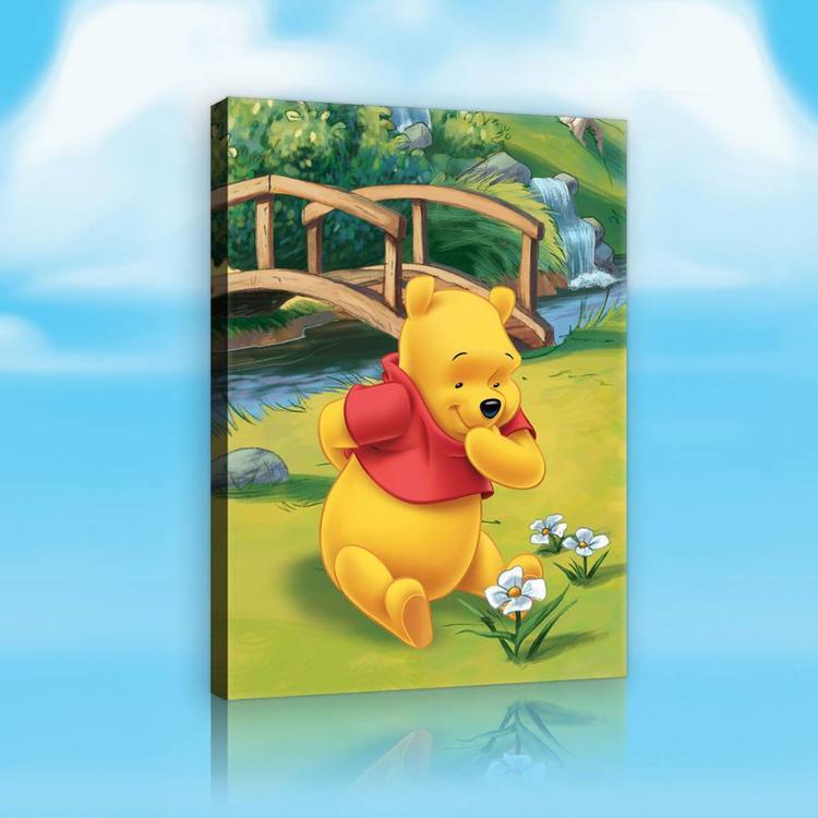 Winnie the Pooh  - Schilderij 60x80cm