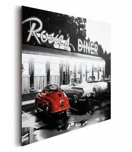 Schilderij Rosie's restaurant