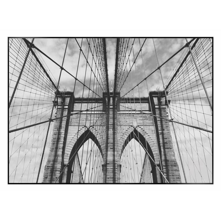 Brooklyn Bridge  - Schilderij 70 x 50 cm