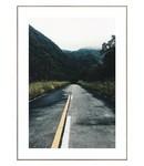 Schilderij Weg door berglandschap