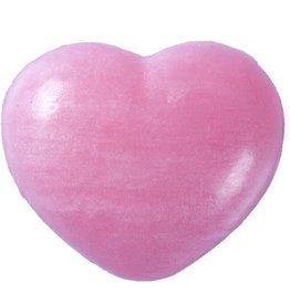Zeep hart 30 gram rose