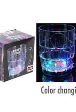 Bierglas/pul met LED verlichting set van 3 kopen