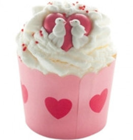 Bomb Cosmetics Jar of Hearts Cocoa Swirl