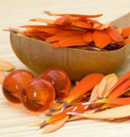 10 badparels oranje (Perzik)