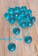 Badparels lichtblauw transparant - bestellen