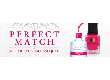 Perfect Match Gel Polish + Nail Lacquer Duo