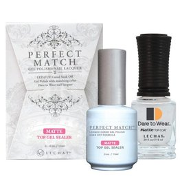 LeChat Perfect Match – Matte Top Gel Sealer