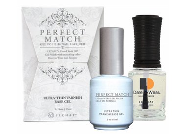 Perfect Match Base & Top Gel
