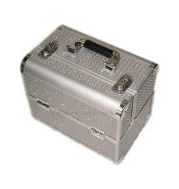 Beauty koffer zilver