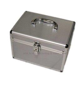 Make-up koffer zilver