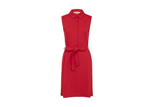 People Tree Lenna Shirt Dress Red