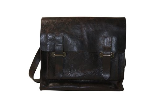 Black Colour VEGAS courier bag