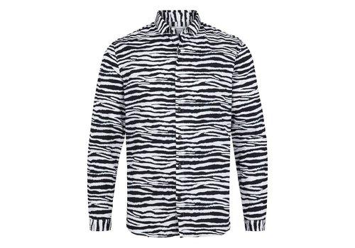 Lindbergh Zebra printed shirt l/s