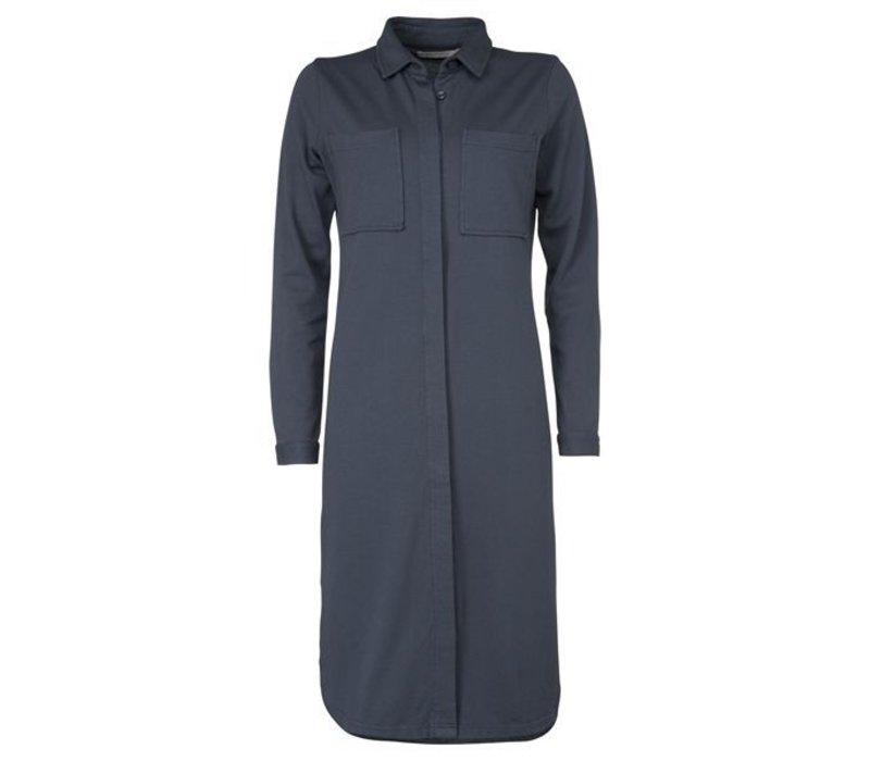 Polo dress LS