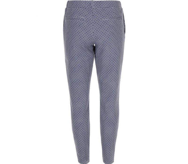Scuba printed pantalon