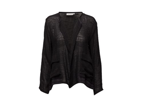 Masai Jacini jacket fitted ,black