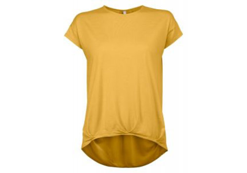 YAYA Blouson Top Woven back-Vintage Yellow