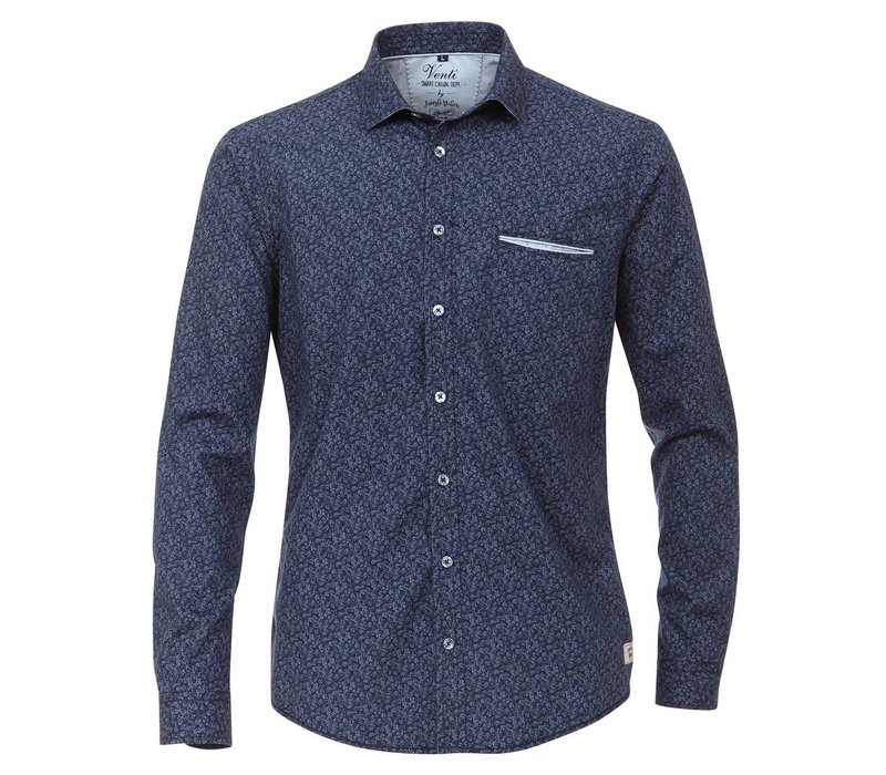 kl.Kent Slim Fit smart casual, blue