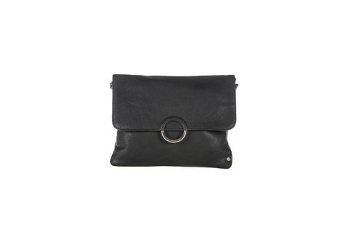 DEPECHE Small bag/clutch silver buckle