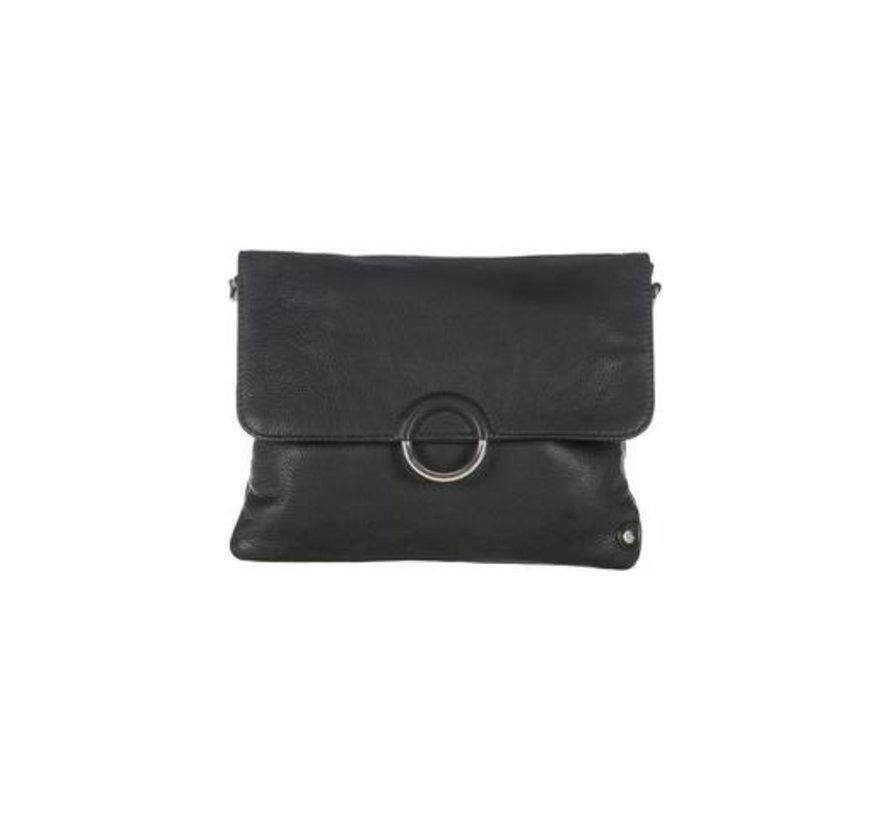 Small bag/clutch silver buckle
