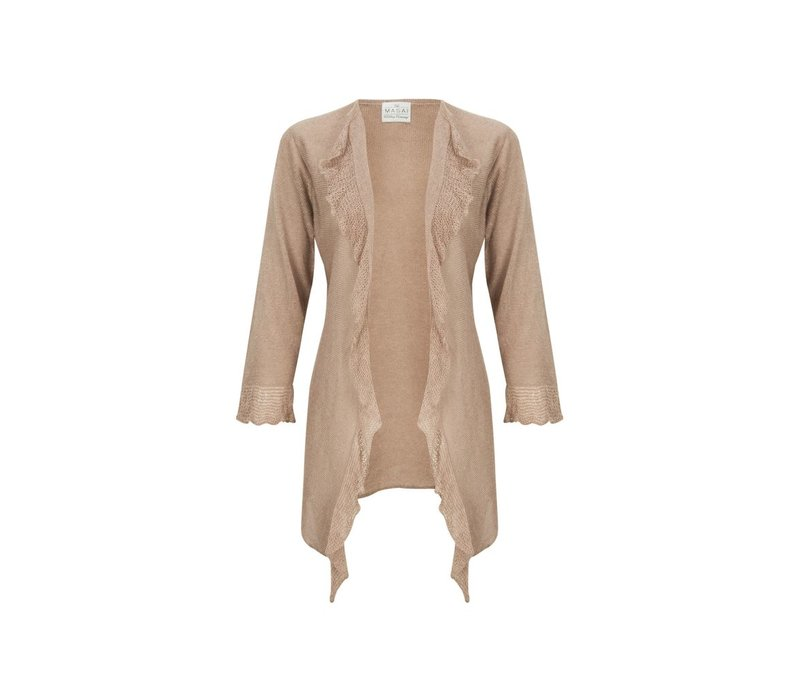 Laima cardigan fitted 3/4 slv