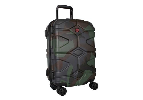 Camouflage Army luggage