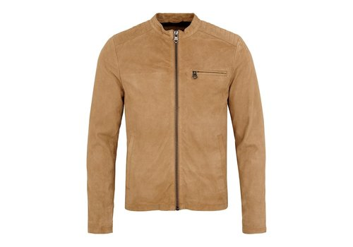 Lindbergh Suede biker jacket