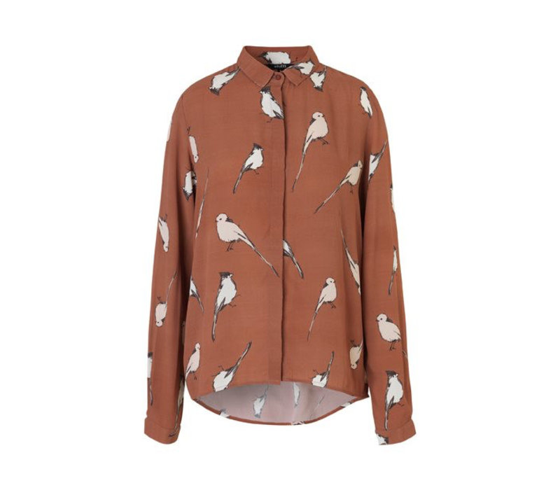 Klara, Starling Print - Shirt