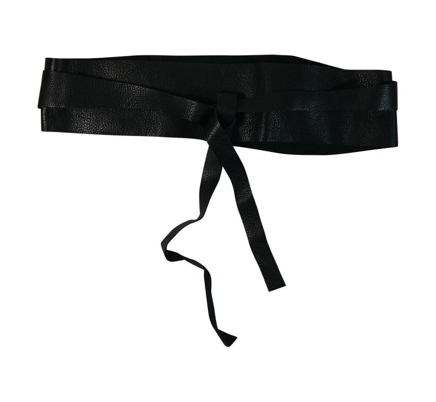 RIO tie belt-Black