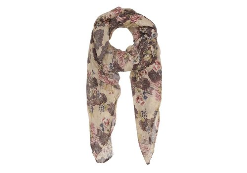 Tif-TIffy Palace Scarf-Grey