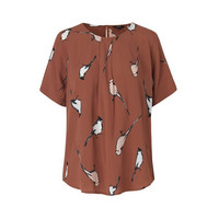 Vitaly, Starling Print- Top