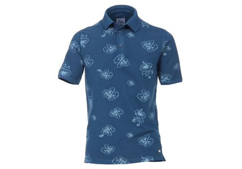 Venti POLO patterned polo shirt 1/2 sv
