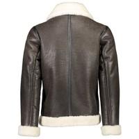 Shearling pilot jacket