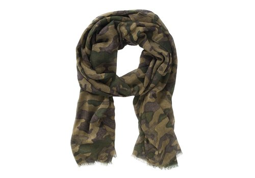 Dstrezzed Scarf Voile-Dk- Green Camo