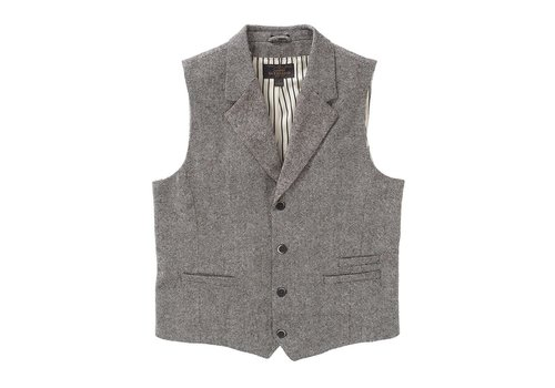 Dstrezzed Gilet Wool Tweed Naps