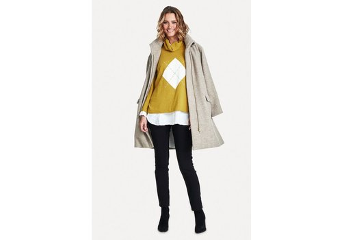 Masai Thelma coat A-shape long slv