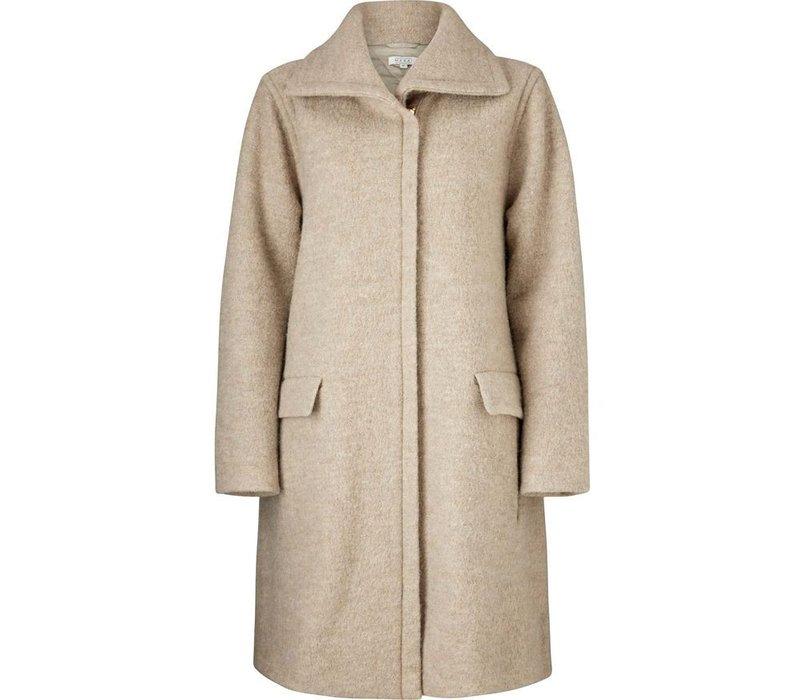 Thelma coat A-shape long slv