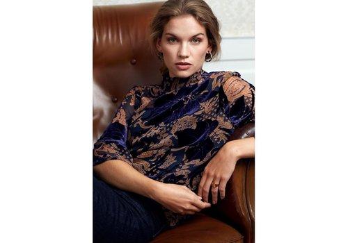 Minus A/S Nikita flock blouse