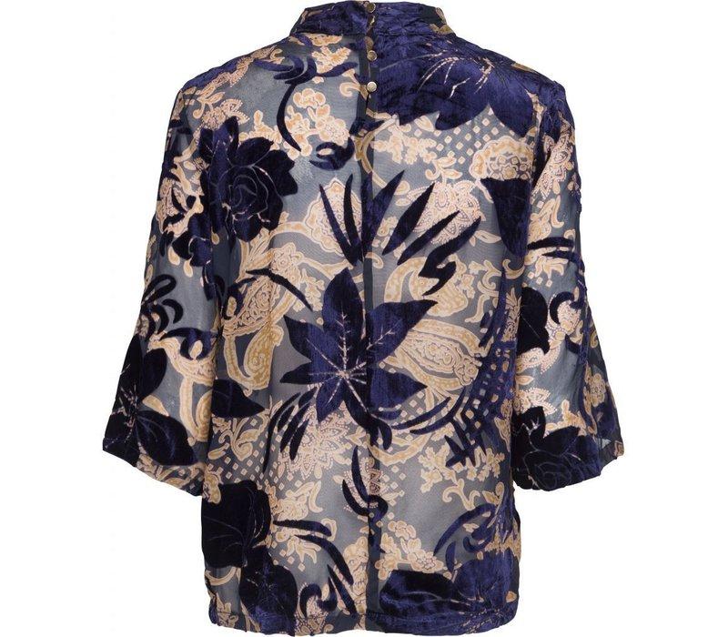 Nikita flock blouse