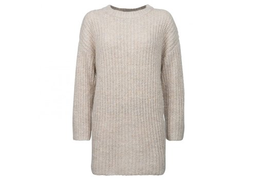 YAYA LONG CHUNKY KNIT DRESS
